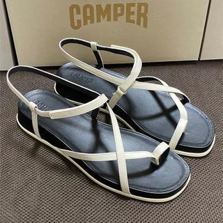 カンペール(CAMPER)の新品 Camper Atonika カンペール アトニカ サンダル ホワイト(サンダル)