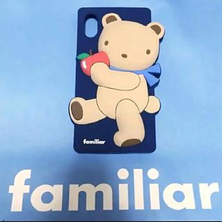 ファミリア(familiar)の【新品未使用】ファミリア iPhoneケース iPhone X XS(iPhoneケース)