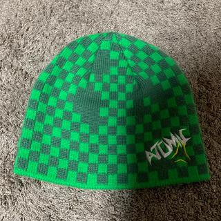 アトミック(ATOMIC)のニット帽(ニット帽/ビーニー)
