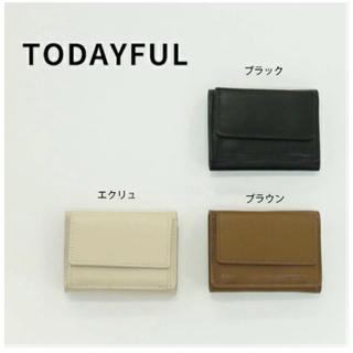 トゥデイフル(TODAYFUL)のtantan様【トゥデイフル / TODAYFUL】ミニレザーウォレット(財布)