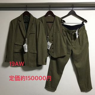 エンジニアードガーメンツ(Engineered Garments)の19aw andover jacket セットアップ rrl ササフラス (セットアップ)