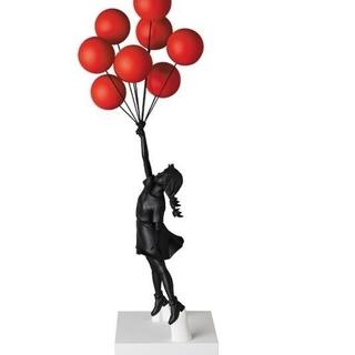 メディコムトイ(MEDICOM TOY)の新品未開封品 Flying Balloons Girl (Black Ver.)(その他)