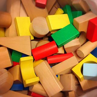ボーネルンド(BorneLund)の木製 つみき 3kg(知育玩具)