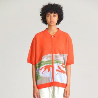 マルタンマルジェラ(Maison Martin Margiela)のttt_msw ニットポロシャツ (ポロシャツ)