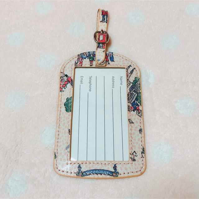 Cath Kidston(キャスキッドソン)のキャスキッドソン ネームタグ レディースのファッション小物(名刺入れ/定期入れ)の商品写真