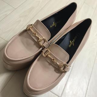 エブリン(evelyn)のevelyn ヒールローファー(ローファー/革靴)