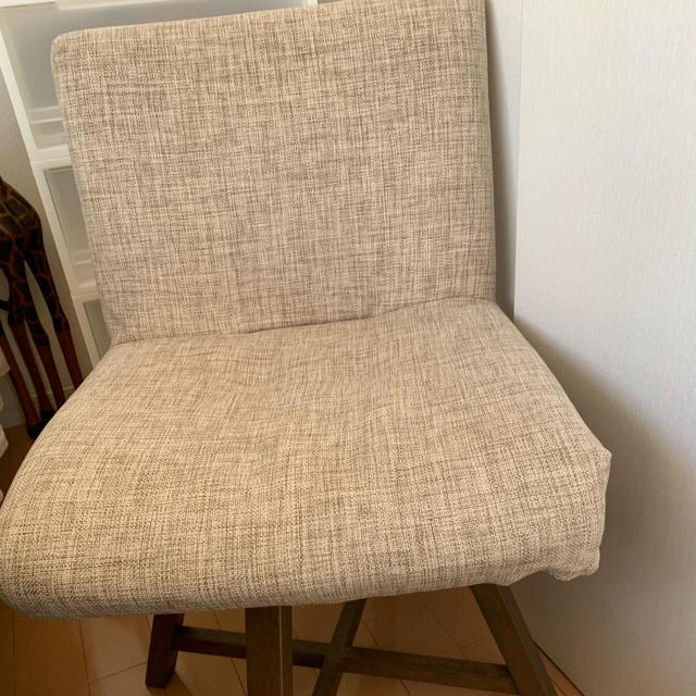 回転 チェアー椅子 インテリア/住まい/日用品の椅子/チェア(ダイニングチェア)の商品写真
