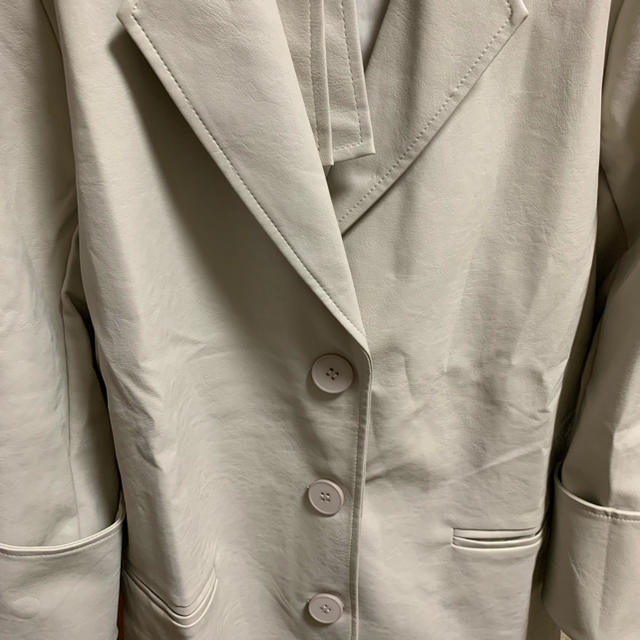 TODAYFUL(トゥデイフル)のselect MOCA レザージャケット レディースのジャケット/アウター(テーラードジャケット)の商品写真