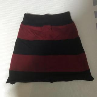ロデオクラウンズ(RODEO CROWNS)のロデオクラウンズ スカート  キッズ ベビー 90 100(スカート)