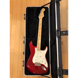 フェンダー(Fender)の美品 Fender American Standard Stratocaster(エレキギター)