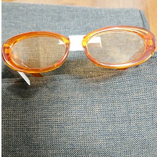 フォーエバートゥエンティーワン(FOREVER 21)の新品セール♪オシャレオレンジメガネ♪(サングラス/メガネ)