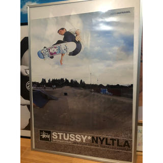 STUSSY - stussy   販促用 ポスター