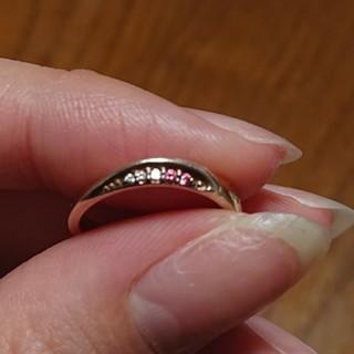 ザキッス(THE KISS)の♦️掘り出しセール♦️THE KISSピンクゴールドの指輪(13号)新品巾着付き(リング(指輪))