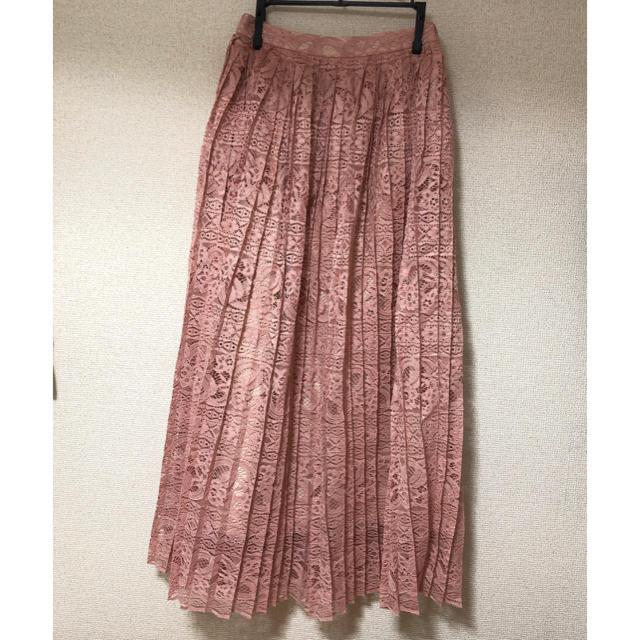 MERCURYDUO(マーキュリーデュオ)のMERCURYDUO プリーツレーススカート レディースのスカート(ロングスカート)の商品写真