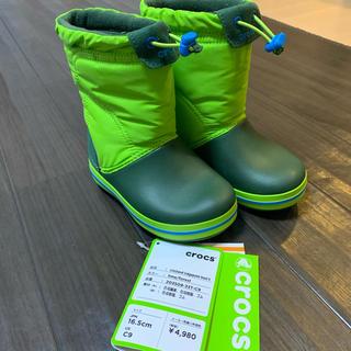 crocs - 【新品タグ付き】クロックス スノーブーツ16.5㎝