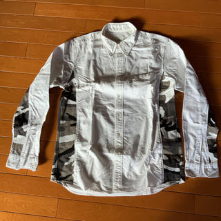 ユニフォームエクスペリメント(uniform experiment)のSoph ユニフォームエクスペリメントのオックスフォード シャツ 迷彩(シャツ)