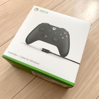 エックスボックス(Xbox)のX BOX コントローラ ケーブル for Windows(PC周辺機器)