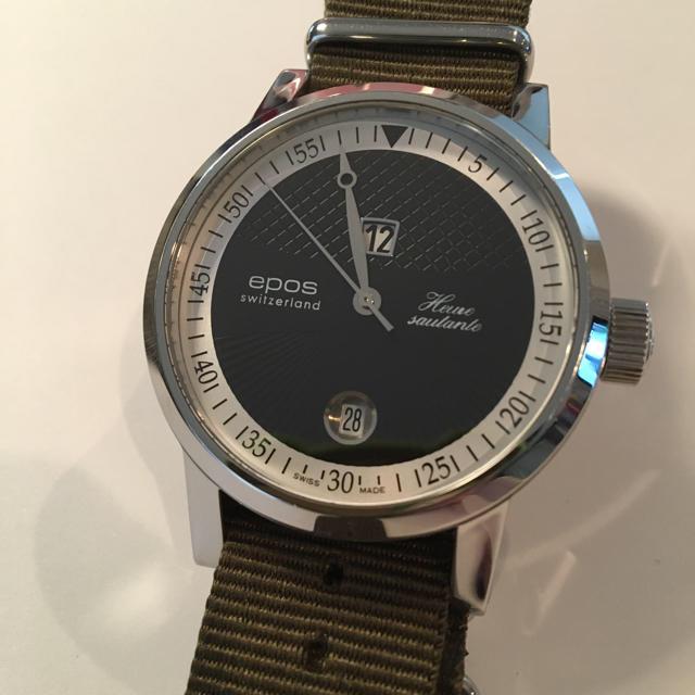 コピー 时计东京 、 EPOS - エポス ジャンピングアワー epos 自動巻き 腕時計 時計の通販