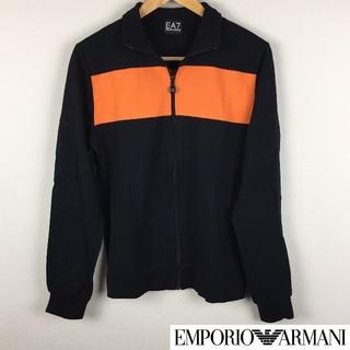 エンポリオアルマーニ(Emporio Armani)の美品 エンポリオアルマーニ 長袖スウェット ブラック サイズS(スウェット)