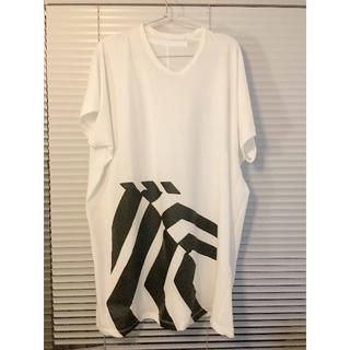 ユリウス(JULIUS)のユリウスjulius ニルズNILS カットソー Tシャツ ホワイト SIZE2(Tシャツ/カットソー(半袖/袖なし))