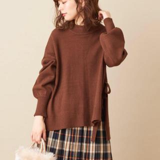 ナチュラルクチュール(natural couture)のサイドスリット&TPプチハイニット(ニット/セーター)