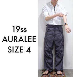 COMOLI - 19ss AURALEE LIGHT FINX FATIGUE PANTS 4