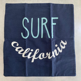 ニトリ(ニトリ)のクッションカバー SURF california サーフ カリフォルニア ロゴ(クッションカバー)