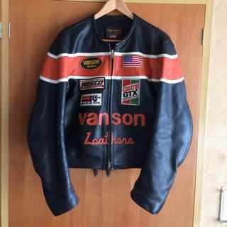 バンソン(VANSON)の最終値引 VANSON ライダース 42(ライダースジャケット)
