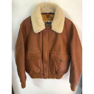 Supreme - Supreme×Schott LeatherJacket Sサイズ 希少