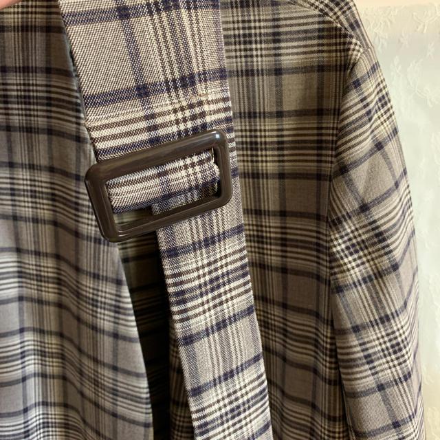 GU(ジーユー)のGU 薄手 コート レディースのジャケット/アウター(ロングコート)の商品写真