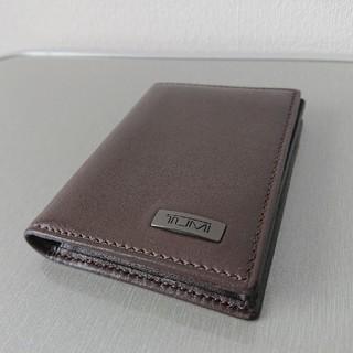 トゥミ(TUMI)のC様専用 TUMI トゥミ カードケース 名刺入れ レザー (名刺入れ/定期入れ)
