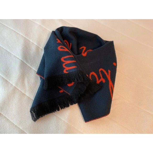 UNITED ARROWS(ユナイテッドアローズ)のallureville アルファベット マフラー ストール レディースのファッション小物(マフラー/ショール)の商品写真