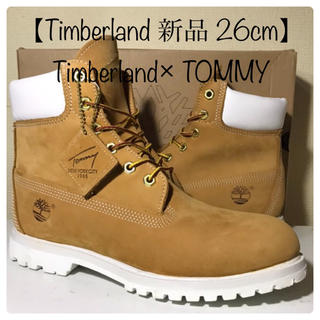 Timberland - 【Timberland 新品】26cm ティンバーランド × TOMMY コラボ