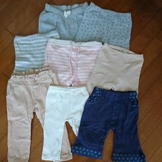 babyGAP - 女の子 保育園 遊び着 babyGap など ズボンたくさん90サイズ8枚セット