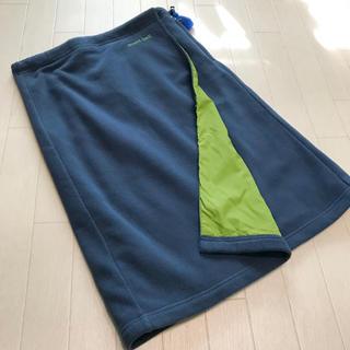 モンベル(mont bell)の美品 モンベル フェルト素材 防寒ラップスカート S(登山用品)