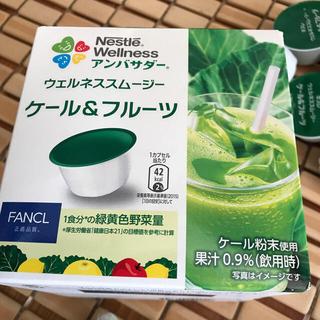 ネスレ(Nestle)のスムージー ケール&フルーツ(青汁/ケール加工食品)
