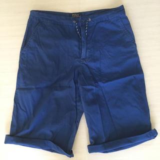 ポロラルフローレン(POLO RALPH LAUREN)のポロラルフローレン  ショートパンツ Sサイズ 青ブルー(ショートパンツ)