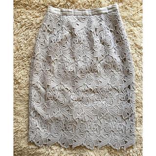 ジャスグリッティー(JUSGLITTY)のジャスグリッティー  レース スカート (ひざ丈スカート)