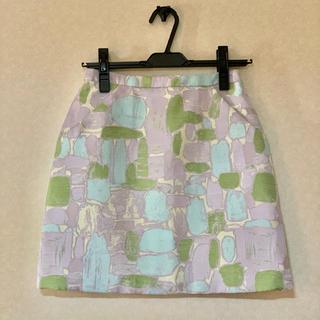 リリーブラウン(Lily Brown)のlily blown 台形スカート (ミニスカート)