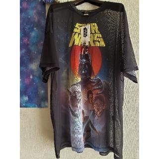 ベルシュカ(Bershka)のスターウォーズ メッシュTシャツ(Tシャツ(半袖/袖なし))