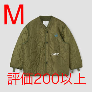 フラグメント(FRAGMENT)のOAMC FRAGMENT LINER GREEN M(ダウンジャケット)