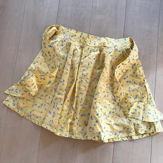 パラビオン(Par Avion)の黄色 スカート(ひざ丈スカート)