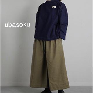 ネストローブ(nest Robe)の🍓お値下再出品🍓▪ ubasoku ▪コットンリネンワイドパンツ ▪(カジュアルパンツ)