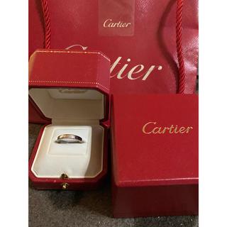 カルティエ(Cartier)のカルティエCARTIER ラニエール 証明書付 K18WG リング指輪(リング(指輪))