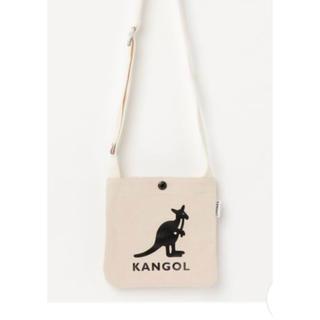 カンゴール(KANGOL)のKANGOL  キャンバスminiサコッシュショルダーバッグ(ショルダーバッグ)