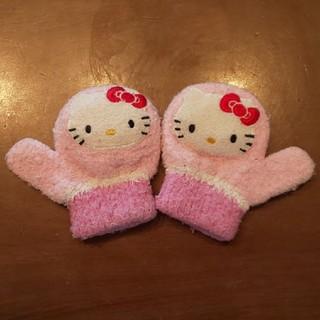 ハローキティ(ハローキティ)のハローキティ 手袋 子供用(手袋)