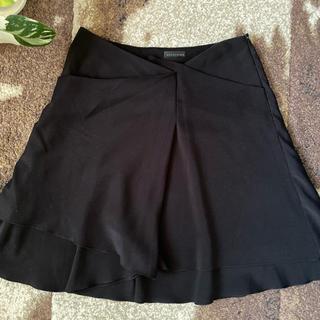 アンテプリマ(ANTEPRIMA)のANTEPRIMA 黒★変わりフレアー膝丈スカート(ひざ丈スカート)