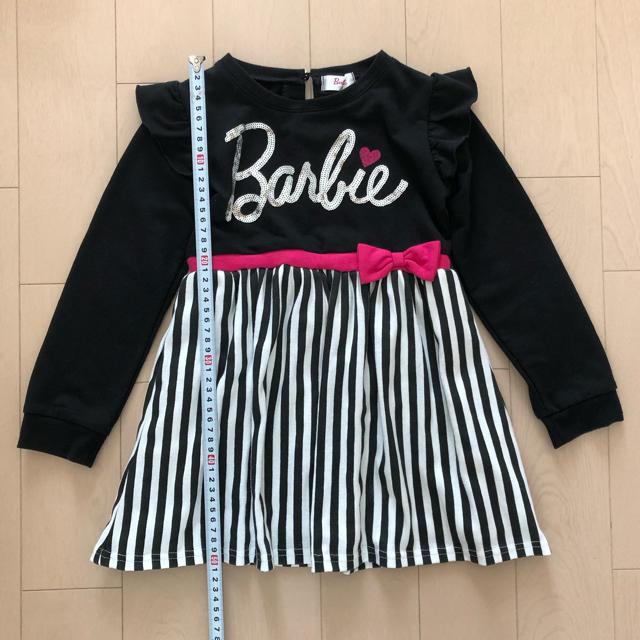 Barbie(バービー)のBarbie ワンピース  110cm キッズ/ベビー/マタニティのキッズ服女の子用(90cm~)(ワンピース)の商品写真