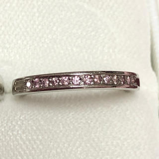 アーガイル産ピンクダイヤモンドエタニティリング(リング(指輪))