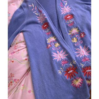 グリモワール(Grimoire)の刺繍 vintage ガウン(カーディガン)